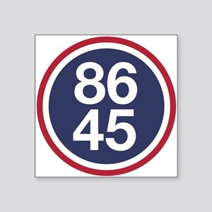 86 45, Impeach Trump Sticker