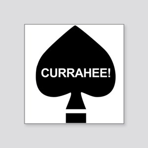 "Band of Brothers - Currahee! Square Sticker 3"" x 3"