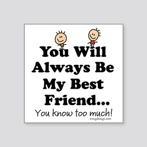 Best Friends Forever Stickers Cafepress