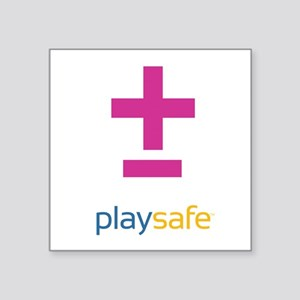 PlaySafe Pride Sticker