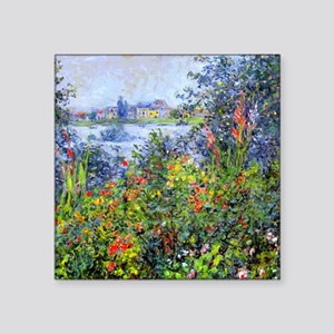 "Monet Square Sticker 3"" x 3"""