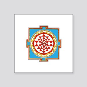 Sri Shiva Square Stickers - CafePress