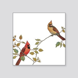 Cardinal Couple Sticker