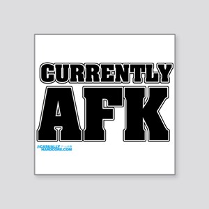 Wow Afk Square Stickers - CafePress
