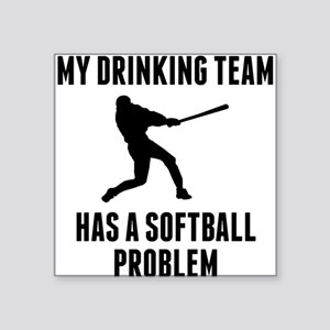 Beer League Softball Stickers - CafePress