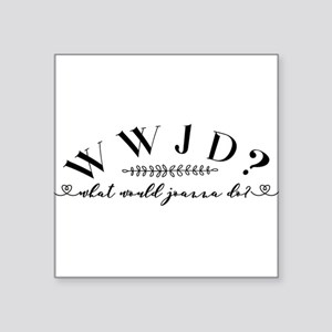 What would Joanna do? Sticker