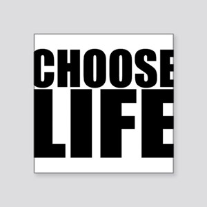 Choose Life 80s Vintage Classic Prolife Sticker