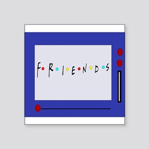 Friends TV Show Magna Doodle Sticker