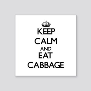 Keep calm and eat Cabbage Sticker