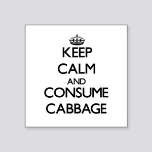 Keep calm and consume Cabbage Sticker