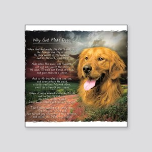 Golden Retriever Puppy Stickers - CafePress
