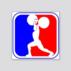 Weightlifting League Logo Sticker