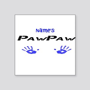 "PawPaw Square Sticker 3"" x 3"""