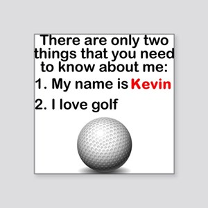 Two Things Golf Sticker