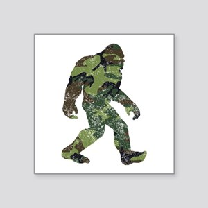 Camo Bigfoot Sticker