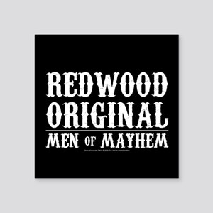 "SOA Men of Mayhem Square Sticker 3"" x 3"""