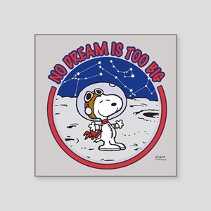 Peanuts No Dream Is Too Big Sticker