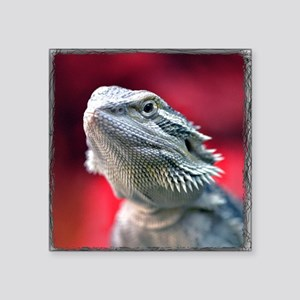 Dragon Head Square Sticker
