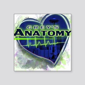 Grey's Anatomy TV Fan Square Sticker