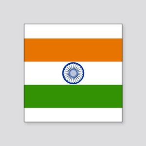 India National Flag Sticker