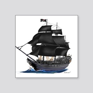Pirate Ship Stickers - CafePress