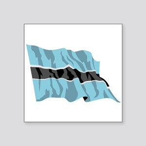 Botswana Flag Sticker