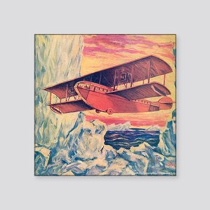 "Tom Swift and his Flying Bo Square Sticker 3"" x 3"""