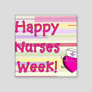 National Nurses Week Stickers - CafePress