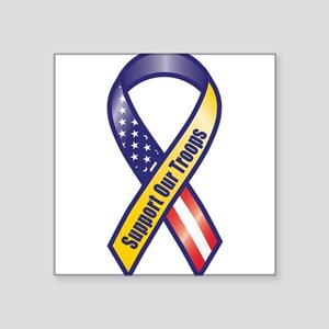Support Our Troops - Ribbon Sticker