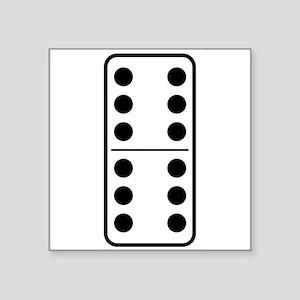 Domino Double Six Sticker