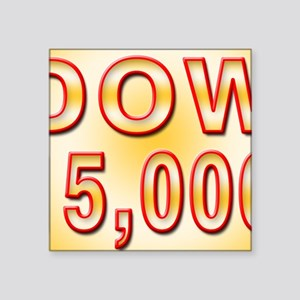 "DOW 15000 Square Sticker 3"" x 3"""
