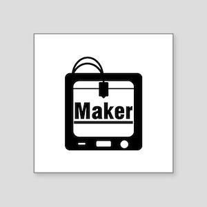 3D printer Maker Sticker