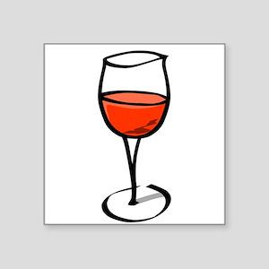 Glass Of Red Wine Sticker
