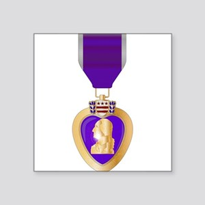 Purple Heart Medal Sticker