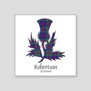 "Thistle-RobertsonStruan Square Sticker 3"" x 3"""