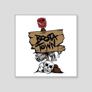 Boota Town Sticker