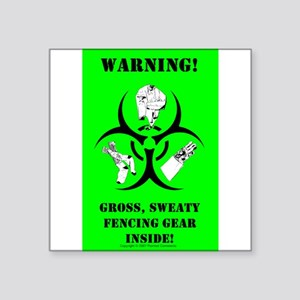 Biohazard Sticker (green) Sticker