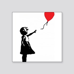 Banksy - Little Girl with Ballon Sticker