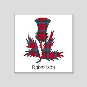 "Thistle-Robertson Square Sticker 3"" x 3"""
