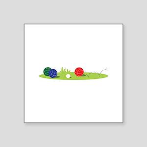 Bocce Ball Game Sticker