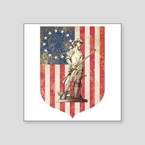 Concord Minuteman, Shield Sticker