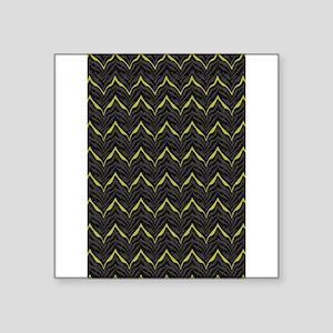 Chic Black Animal Pattern Desi Sticker