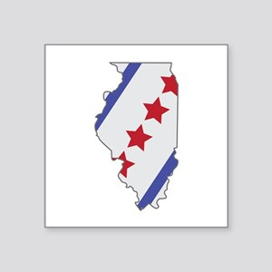 Illinois Map Sticker