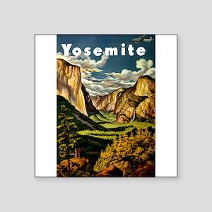 Vintage Yosemite Travel Sticker