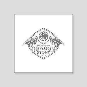 """Dragonstone Square Sticker 3"""" x 3"""""""