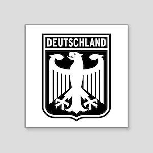 Deutschland Eagle Rectangle Sticker