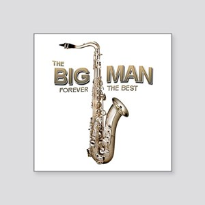 RIP Big Man Clarence Clemons Square Sticker 3&quot