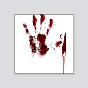 The Red Hand Sticker