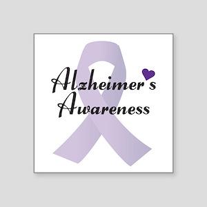 Alzheimers Awareness Ribbon Sticker