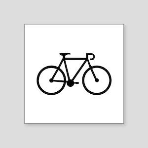 "Bicycle bike Square Sticker 3"" x 3"""